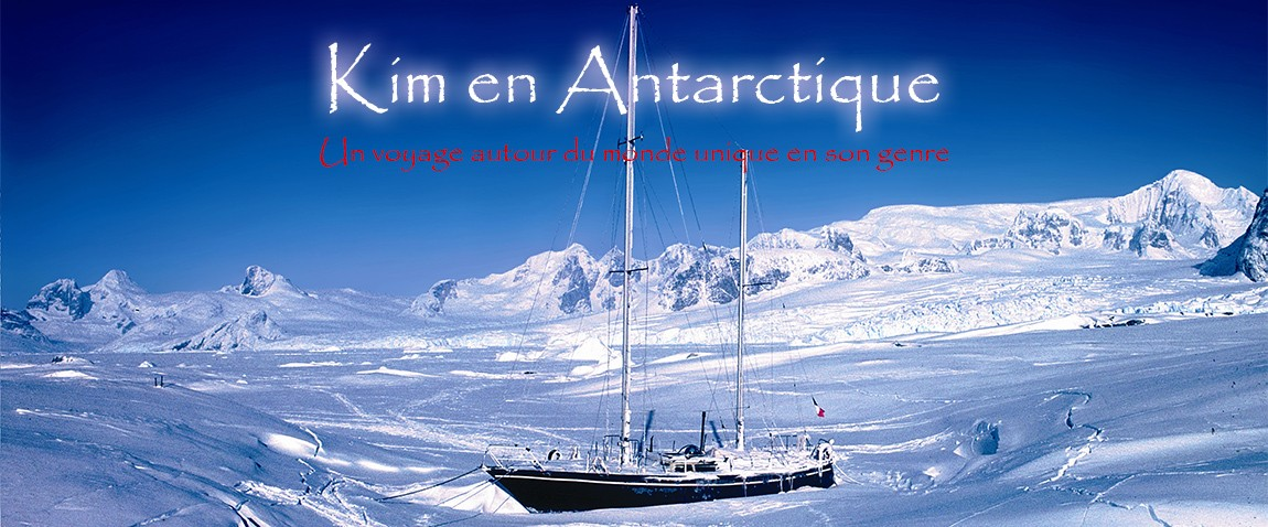 Kim en Antarctique